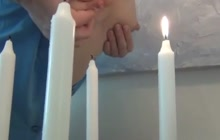 Candles and breast milk