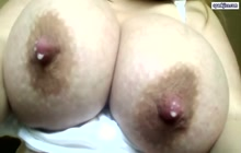 Huge milky tits
